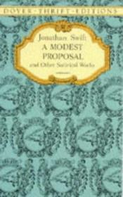 book cover of A Modest Proposal and Other Prose by Jonathan Swift