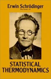 book cover of Statistical Thermodynamics by Erwin Schrödinger