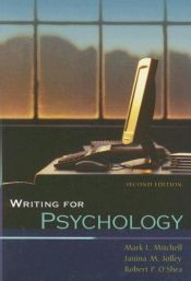 book cover of Writing for Psychology by Mark L. Mitchell