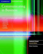 book cover of Communicating in Business Student's Book (Cambridge Professional English) by Simon Sweeney