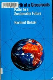 book cover of Earth at a Crossroads: Paths to a Sustainable Future by Hartmut Bossel