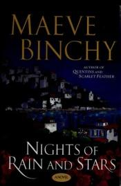 book cover of Nights of rain and stars by Maeve Binchy