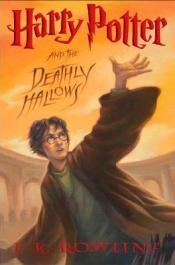 book cover of Harry Potter and the Deathly Hallows by J. K. Rowling
