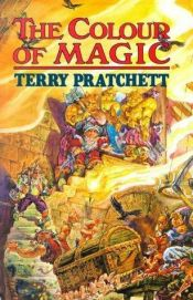 book cover of The Colour of Magic by Terry Pratchett