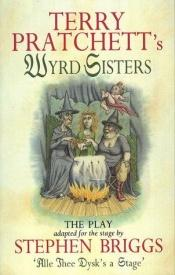 book cover of Wyrd Sisters by Terry Pratchett