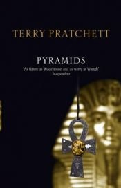 book cover of Pyramids by Terry Pratchett