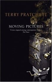book cover of Moving Pictures by Terry Pratchett