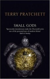 book cover of Small Gods by Terry Pratchett