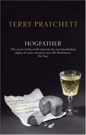 book cover of Hogfather by Terry Pratchett