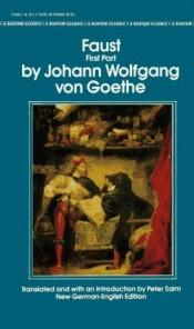 book cover of Faust: Part One by Johans Volfgangs fon Gēte