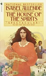 book cover of The House of Spirits by イサベル・アジェンデ