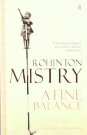 book cover of A Fine Balance by Rohinton Mistry