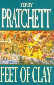 book cover of Feet of Clay by Terry Pratchett