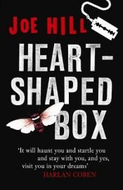 book cover of Heart-Shaped Box by Joe Hill