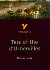 "book cover of York Notes on Thomas Hardy's ""Tess of the D'Urbervilles"" (Longman Literature Guides) by David Lindley"