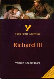 "book cover of York Notes Advanced on William Shakespeare's ""Richard III"" by Rebecca Warren"