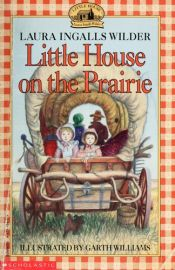 book cover of Little House in the Big Woods by Laura Ingalls Wilder