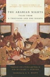 book cover of Arabian Nights: Tales From A Thousand And One Nights (Modern Library Classics (Turtleback)) by A. S. Byatt