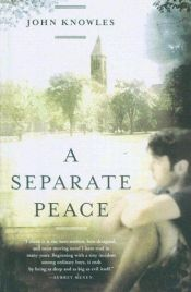 book cover of A Separate Peace by John Knowles