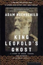 book cover of De geest van koning Leopold II by Adam Hochschild