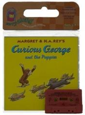 book cover of Curious George and the Puppies Book & Cassette (Carry Along) by Vipah Interactive