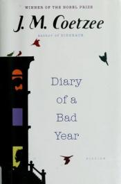 book cover of Diary of a Bad Year by J. M. Coetzee