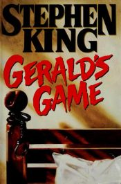 book cover of Gerald's Game by Stephen King