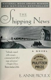 book cover of The Shipping News by Annie Proulx