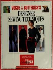 book cover of Designer Sewing Techniques by Kit Schlich