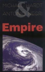 book cover of Empire by Antonio Negri|Michael Hardt