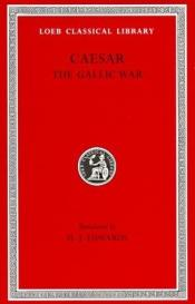 book cover of De bello gallico by Caesar