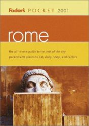 book cover of Pocket Rome 2001 (Pocket Guides) by Fodor's