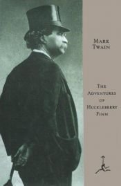 book cover of Pengembaraan Huckleberry Finn by Mark Twain
