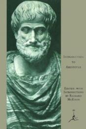 book cover of Introduction to Aristotle by Aristotle