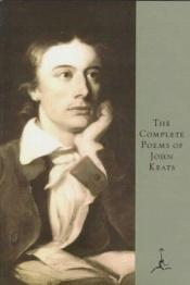 book cover of The complete poems of John Keats by John Keats