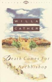 book cover of Death Comes for the Archbishop by Willa Cather