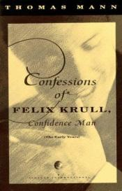 book cover of Confessions of Felix Krull by Томас Манн