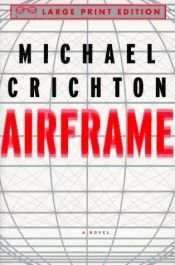book cover of Airframe by Michael Crichton