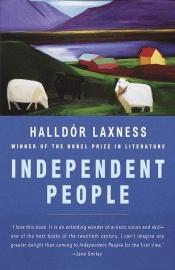 book cover of Gente Independente by Halldór Laxness