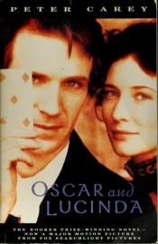 book cover of Oscar ja Lucinda by Peter Carey