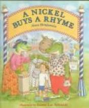 book cover of A Nickel Buys a Rhyme by Alan Benjamin