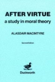 book cover of After Virtue by Alasdair MacIntyre