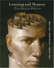 book cover of Learning and Memory: From Brain to Behavior by Mark A. Gluck