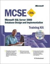 book cover of MCSE Prüfungsvorbereitung 70-229. Microsoft SQL Server 2000 Datenbank-Design und -Implementierung. (Original Microsoft by Microsoft