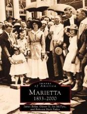 book cover of Marietta, Georgia : 1833-2000 by James Bolan Glover