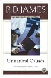 book cover of Unnatural Causes by P.D. James