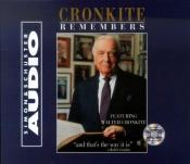 book cover of Cronkite Remembers by Walter Cronkite