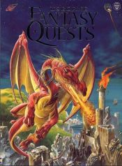 book cover of Usborne Book of Fantasy Quests (Usborne Fantasy Adventure) by Andy Dixon