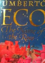book cover of Rosens navn by Umberto Eco