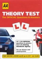 book cover of AA Theory Test: The Official Questions and Answers: Valid from July 2003 (AA Driving Test S.) by Michael C Cox